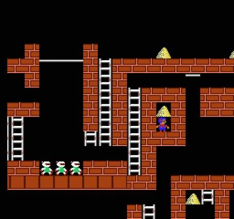 Игру lode runner на эмулятор денди