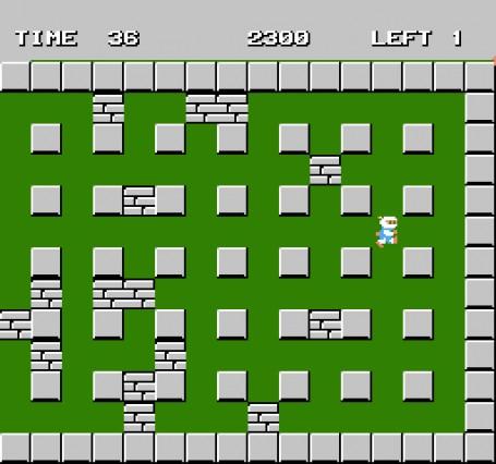 Скачать бесплатно игру Взрыватель Bomberman, эмулятор денди (Nintendo, Dendy, NES), буква b