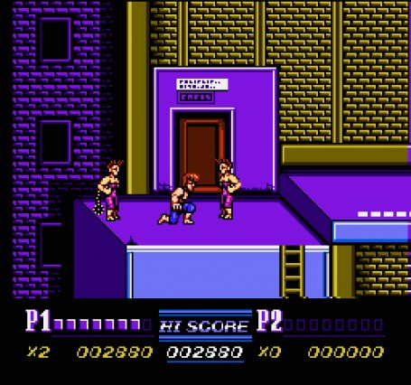Скриншот №2. Double Dragon II - The Revenge