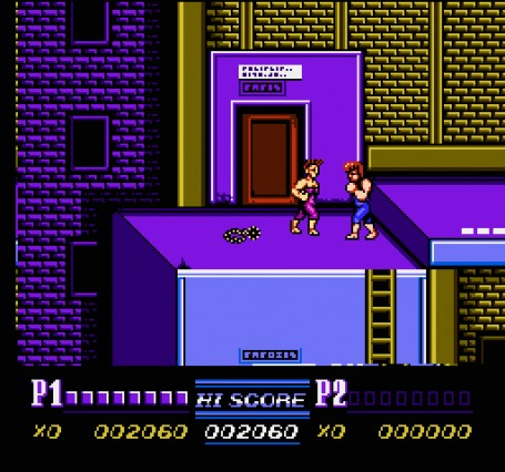 Скриншот №3. Double Dragon II - The Revenge