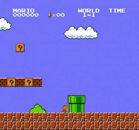 super mario online game original