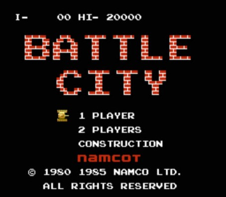 Скриншот №2. Battle City