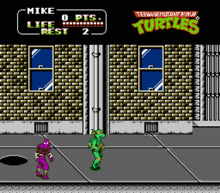Скриншот №2. Teenage Mutant Ninja Turtles 2 - The Arcade Game