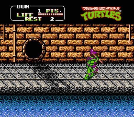 Скриншот №3. Teenage Mutant Ninja Turtles 2 - The Arcade Game