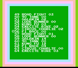 68-in-1 (Game Star - HKX5268)