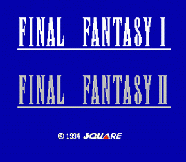 Final Fantasy 1 and 2