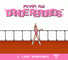 Power Pad Dance Aerobics