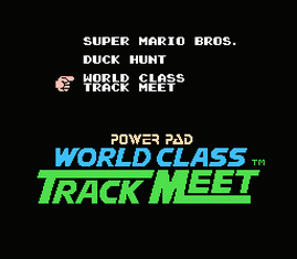 Super Mario Bros. + Duck Hunt + World Class Track Meet