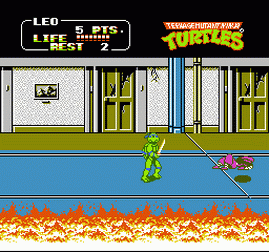 Teenage Mutant Ninja Turtles 2 - The Arcade Game