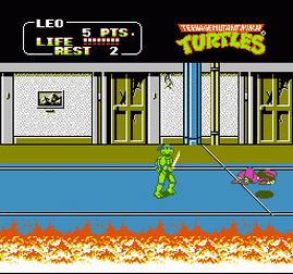 Teenage Mutant Ninja Turtles 2 - The Arcade Game